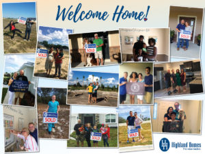 Happy Highland Homeowners - Highland Homes closed 642 homes in 2017