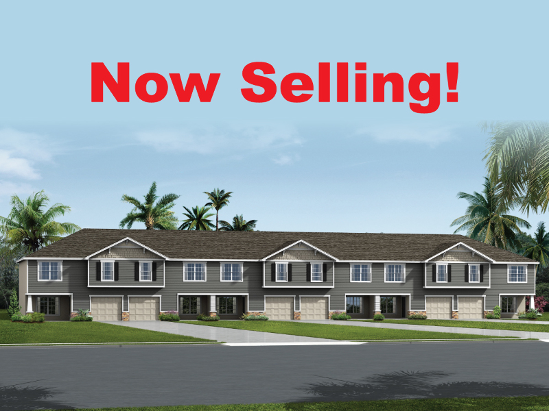 Now Selling - Riverview Townhomes at Landings at Alafia