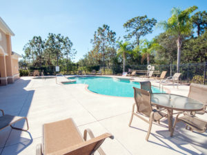 Resort-style amenities at Bradford Manor townhome community in Sarasota