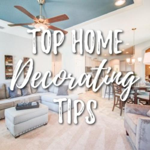 Three Expert Tips for Decorating Your New Home
