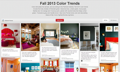 Fall Color Trends for Florida New Homes