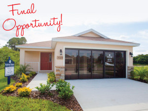 Final Opportunity in Central Florid and Tampa Bay Commuities