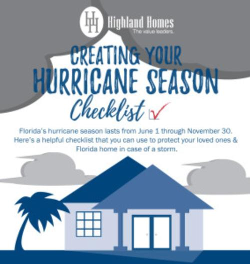Creating Your Florida Hurricane Checklist