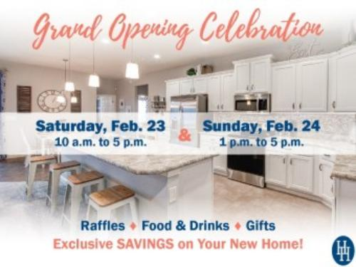You're Invited: Grand Opening of Auburndale New Homes
