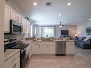kitchen in new townhouses for sale in Sarasota FL