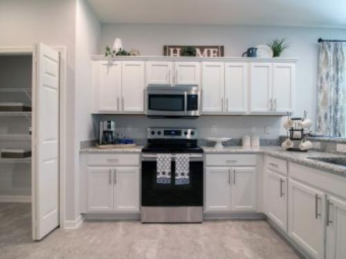 Home Design Showcase: Painted Cabinets