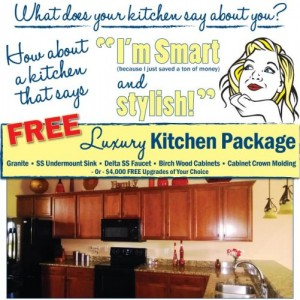 Florida New Home Luxury Kitchen Package