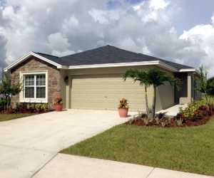Beautiful new home at Palmetto Estates in Manatee County