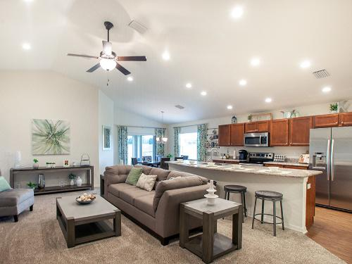 Model home at Summercrest in Ocala>