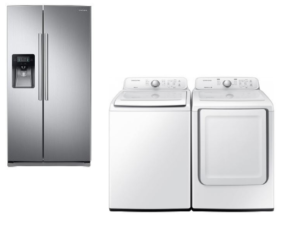 Samsung appliances for townhomes
