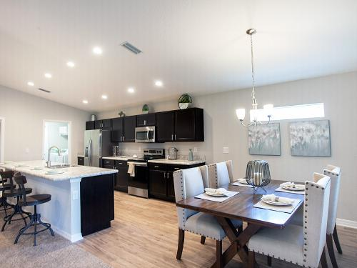 Serendipity model home in Parrish, FL>
