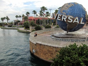 Universal Studios City Walk in Orlando, Florida