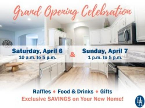 You're Invited: Grand Opening of Lakeland New Home Community