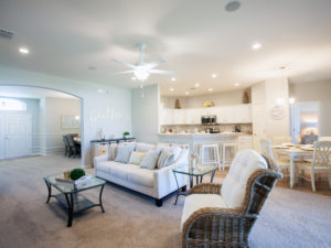 Westin model home gathering room