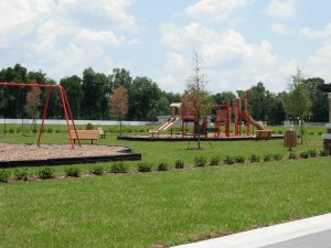 In-community playground at Wind Meadows