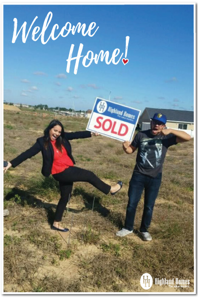 happy homeowners -sold home