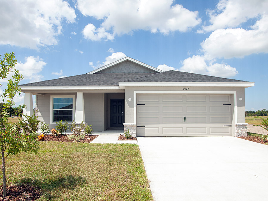 Parker - New home in Davenport, FL at Blossom Grove Estates