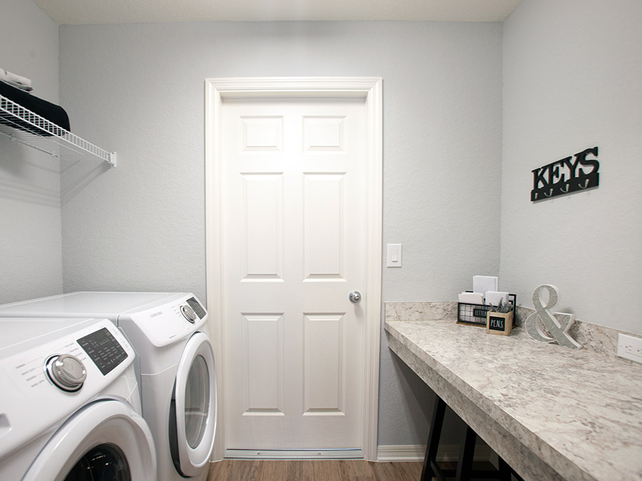 Parker laundry room