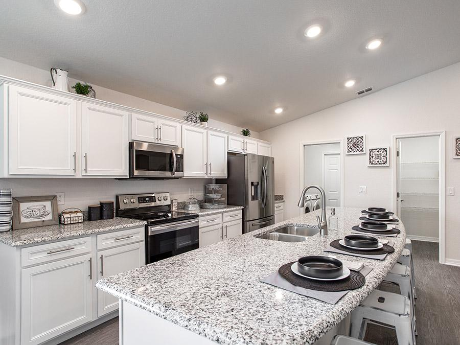 Design the kitchen of your dreams at the Highland Homes design center