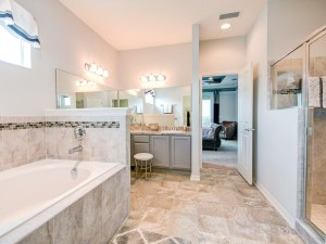 Personalize your bathroom design at the Highland Homes Personal Selection Studio
