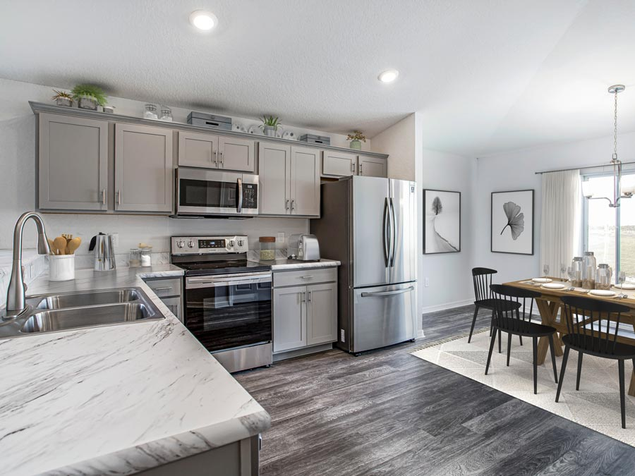 Hibiscus kitchen cabinets