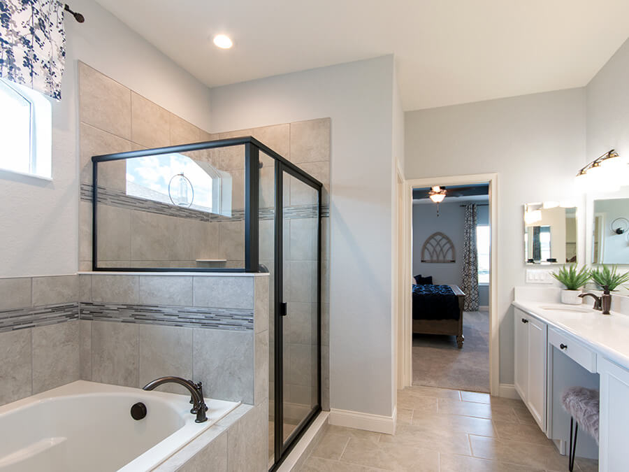Inspiration Gallery Rooms With Mohawk 12x24 Stone Grey Floor Tile Highland Homes