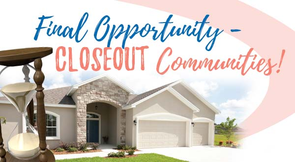 Closeout Communities