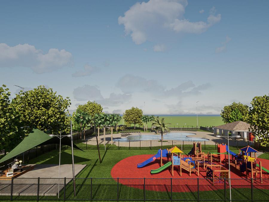 Future amenities at Astonia Davenport new home community