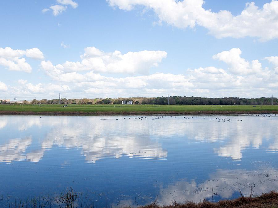 Lakeside Preserve Highland Homes Lakeland gated community lake view
