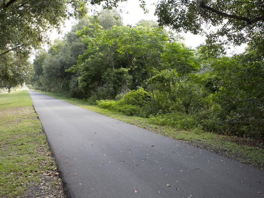 Auburndale TECO Trail near the Auburndale Dog Park