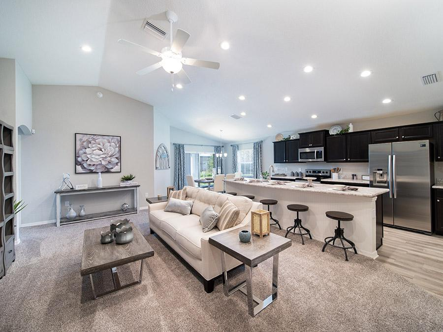 New homes in Tampa are designed for your life with open-concept living space