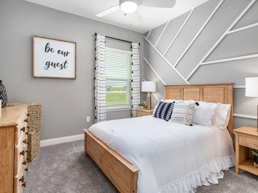 Waylyn model guest bedroom