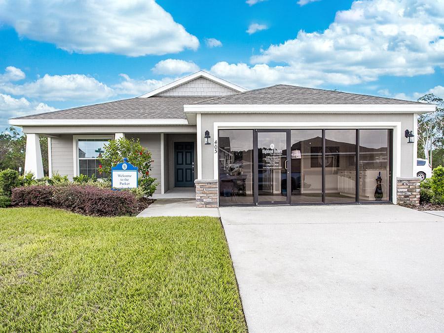 Parker model home in Lake Alfred, FL